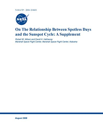 On the Relationship Between Spotless Days and the Sunspot Cycle: A Supplement (English Edition)