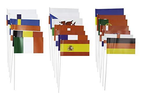 Everflag Papierfähnchen EM 2020/2021