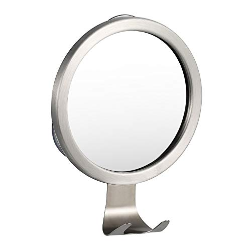 Ettori Shower Mirror Fogless, Shaving Mirror for Shower with Razor Holder & Powerful Lock Suction