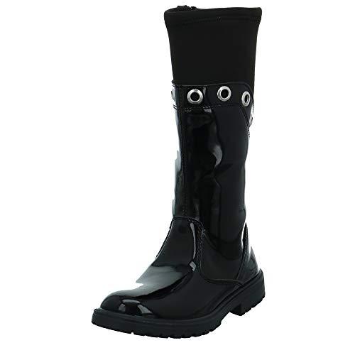 PRIMIGI Kinder Stiefel Schwarzer Stiefel mit Lack 2382611 schwarz 808579
