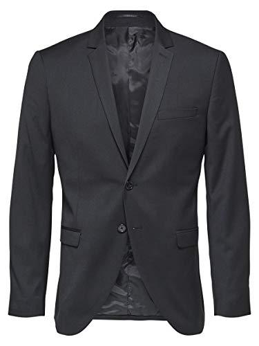 SELECTED HOMME Herren Blazer Slim Fit 48Black