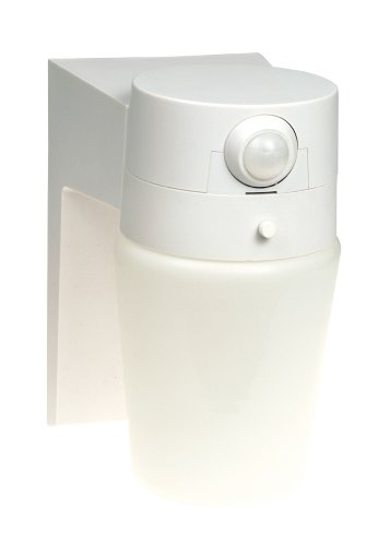 Heath/Zenith SL-5610-WH-B 110 Degree Motion Sensing Security Light, White
