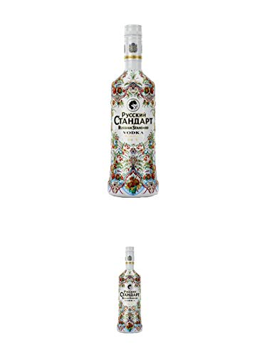Russian Standard SPECIAL EDITION - SILBER - Vodka 0,70 Liter + Russian Standard SPECIAL EDITION - SILBER - Vodka 0,70 Liter