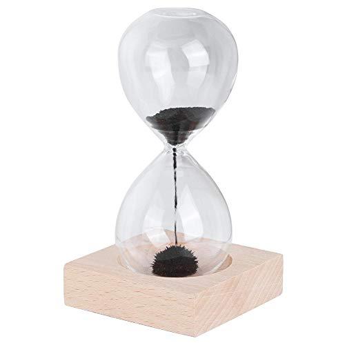 Reloj de arena de reloj de arena, reloj de arena de vidrio de escritorio 18-30 segundos Temporizador de reloj de arena con base Decoración del hogar Adorno Regalo