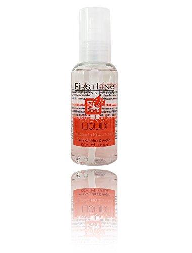 Firstline Shampooing professionnel 1litro Extra Size pour coiffeurs ligne Traitement Salon curative, special Price offre ligne Protection Couleur Cheveux Colorés, permanentati et traités avec l'huile d'amandes