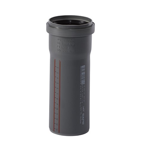 Ostendorf HTsafe HT-Rohr mit Muffe DN 75 mm 150 mm