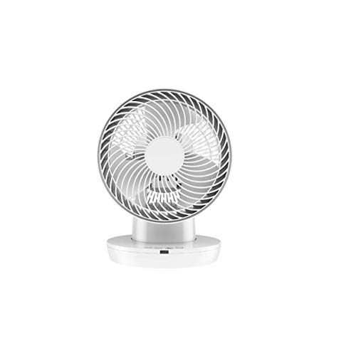 QPLKKMOI Silent Rechargeable Battery Operated Clip on Fan, 3 Speeds Fast Air Circulating USB Fan, for Outdoor Camping Tent Beach or Treadmill Car Personal Desk