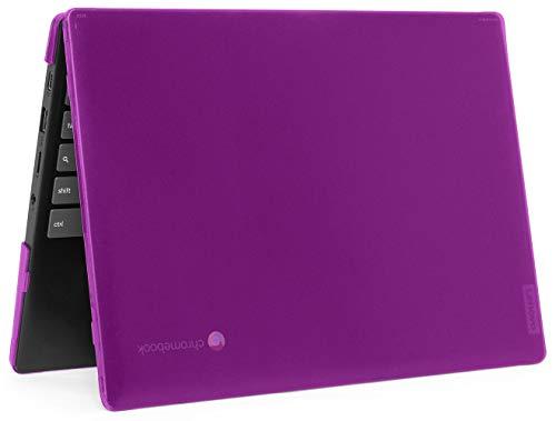 """mCover Hard Shell Case for 2020 11.6"""" Lenovo IdeaPad Chromebook 3 (11) Laptop ( NOT Fitting Lenovo 300E Windows & N21 / N22 / N23 / 300E / 500E / Flex 11 Chromebook ) ( LEN-IP3-C11 ) (Purple)"""