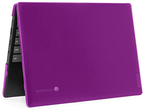 mCover Hard Shell Case for 2020 11.6' Lenovo IdeaPad Chromebook 3i (11) Laptop (Not Fit IdeaPad Flex 3 11.6' Chromebook) Purple