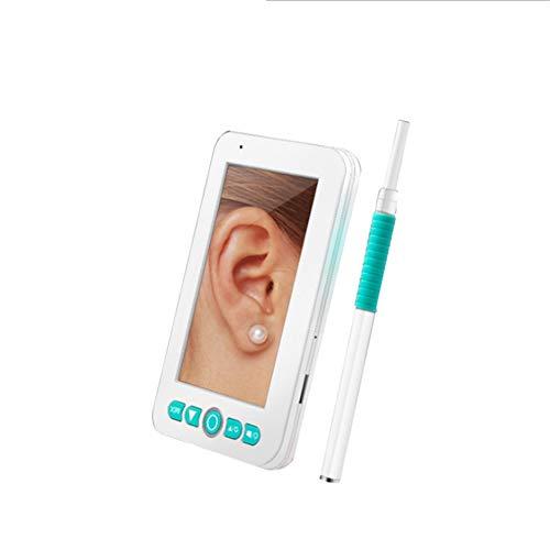 Douup Ear Reinigung Endoskope, Usbendoscope Hand 4,3-Zoll-Bildschirm 200W Pixel Online-HD-Kamera Mit 6 Einstellbare LED-Lampe Endoskope Ohr Kamera IP67 Wasserdicht