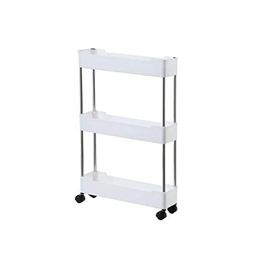 danio Küchenablage Organizer Utility Cart 3/4 Tier Storage Cart Organizer für Mobile Regale Für Büro Badezimmer...