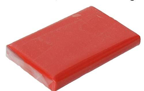 Reinigungsknete Glasreiniger STARK Polierknete Lackreiniger Lackknete ROT 200g