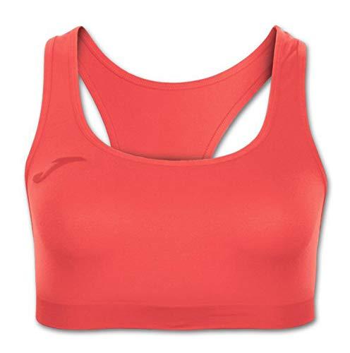 Joma Skin Sujetador, Mujer, Naranja, XL