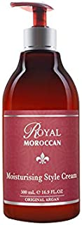 Moroccan Formula - Moisturizing Style Cream (500 ml) - Base of Moroccan Argan oil, For color – Treated Hair