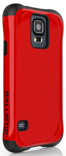 Ballistic Urbanite for Samsung Galaxy S5 - Retail Packaging - Red/Black
