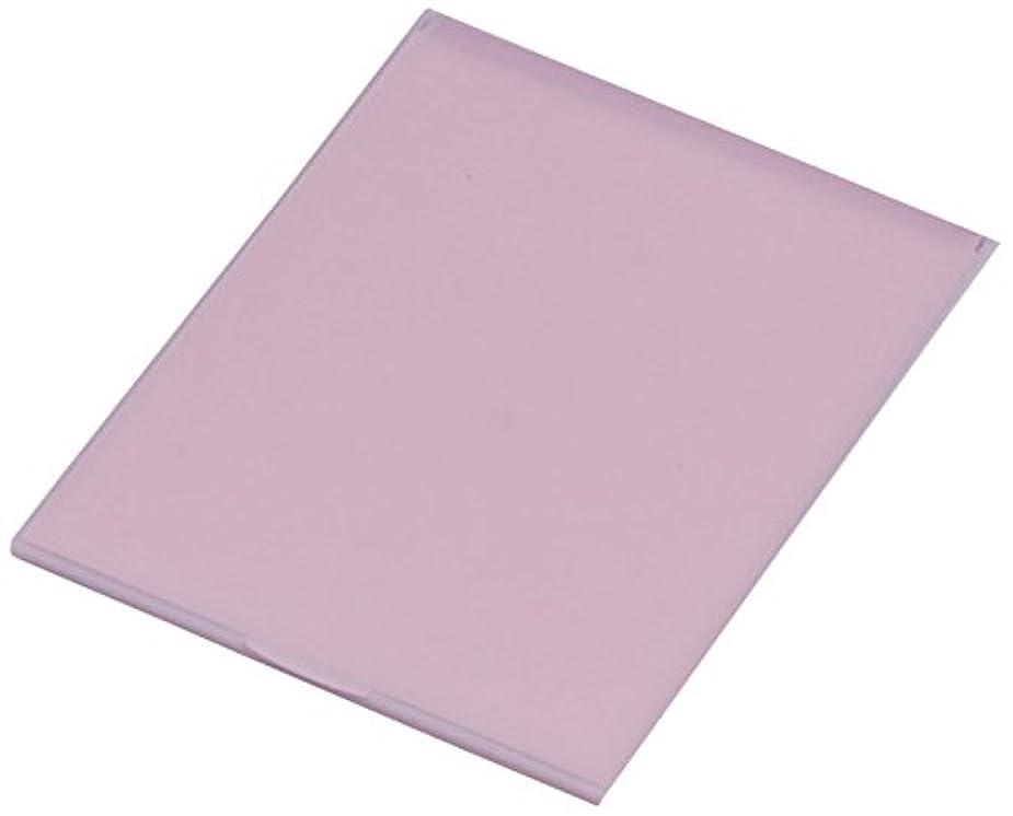 イチゴ悪党修正する堀内鏡工業 スリム&ライト パステルカラー コンパクトミラー L ピンク