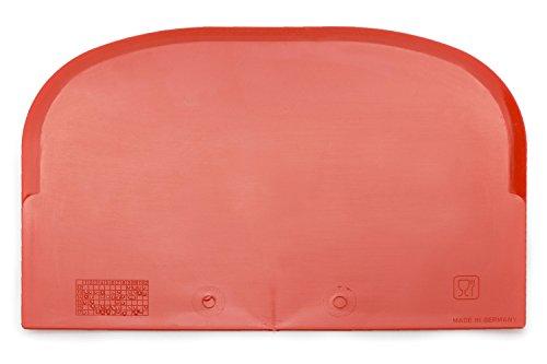 Teigschaber mit Schabekante Backen wie die Profis ideal als Teigkratzer oder Teigteiler sehr robust & belastbar (1 Stück)