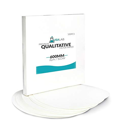 USA Lab Qualitative Filter Paper - Slow 2um Micron - Various Sizes (30cm - 11.81')