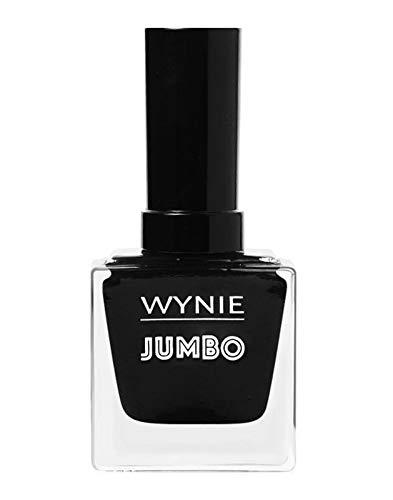 WYNIE JUMBO Nail Polish 048 - Esmalte de Uñas Secado Rápido Larga Duración tamaño Jumbo tono Negro - 14ml
