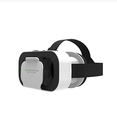 Vrbox 5 Mini Vr Gläser 3D Gläser Virtual Reality Brille VR Headset für Google Pappe Smartp (Color : ONLY VR)