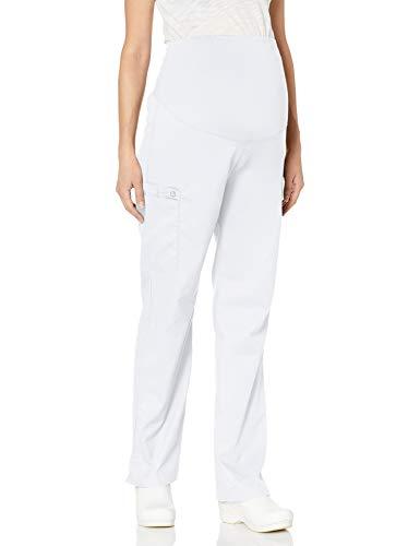 WonderWink Wonderwork - Pantalón de maternidad para mujer - blanco - Small