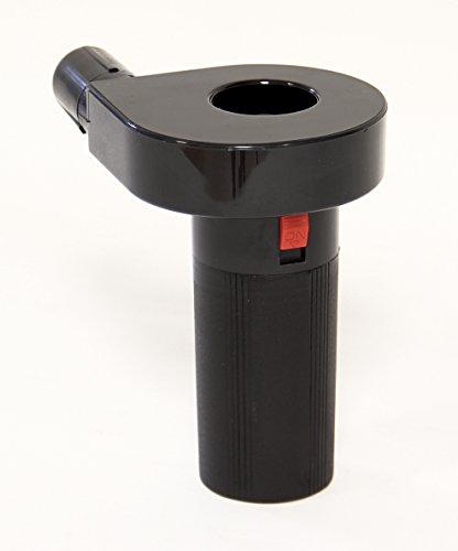 Somagic Ventilador eléctrico a Pilas para Barbacoa, Color Negro