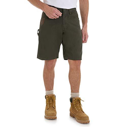 Wrangler Riggs Workwear Men's Carpenter Short, Loden, 34