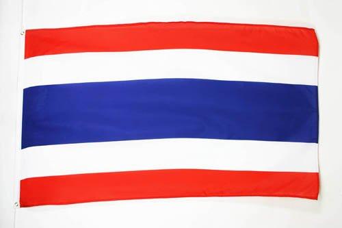 AZ FLAG Flagge Thailand 150x90cm - THAILÄNDISCHE Fahne 90 x 150 cm feiner Polyester - flaggen