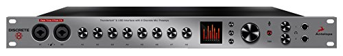 Antelope Audio Discrete 8 Microphone Preamp Thunderbolt/USB Interface - Basic FX Pack