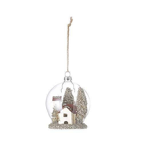 Bloomingville - Ornament/Baumschmuck/Kugel - Glas - Multi - Color - Ø 7cm x 5 cm x H:10cm