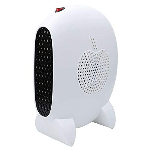 MIEMIE Ventilador Calefactor de Escritorio portátil eléctrico con Calentamiento rápido 3 s y protección contra sobrecalentamiento para Escritorio de Oficina en el hogar P