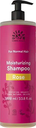 Urtekram Rose Shampoo biologico per capelli normali, 1000 ml