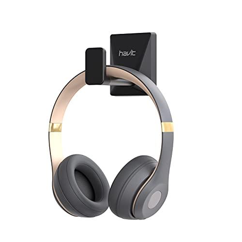 havit Gancho para auriculares de aluminio, soporte para auriculares de...