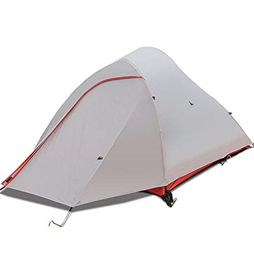 Ultralight Camping Tents 1-2 Person Aluminium Pole 20D Silicon Waterproof Outdoor Hunting Fishing Tourist Hiking Tents