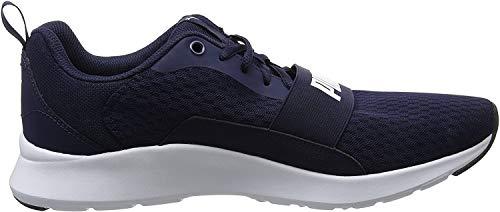 Puma Wired, Zapatillas Unisex Adults'o, Azul (Peacoat-Peacoat White), 44 EU