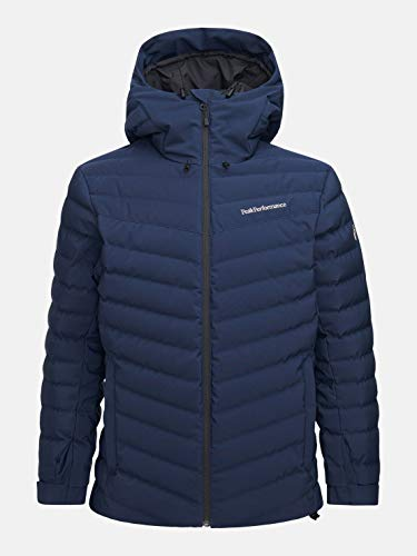 Peak Performance M Frost Ski Jacket Blau, Herren Daunen Isolationsjacke, Größe L - Farbe Blue Shadow