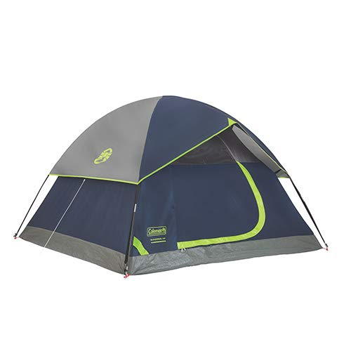 Coleman, Sundome Dome Tent, 4 Person, Blue/Gray