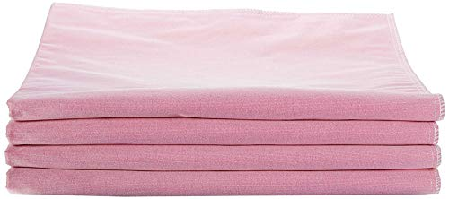 """Medline - MDTR1227073AZ Softnit 300 Washable Underpads, Pack of 4 Large Bed Pads, 34"""" x 36"""", For use as incontinence bed pads, reusable pet pads, great for dogs, cats, and bunny"""