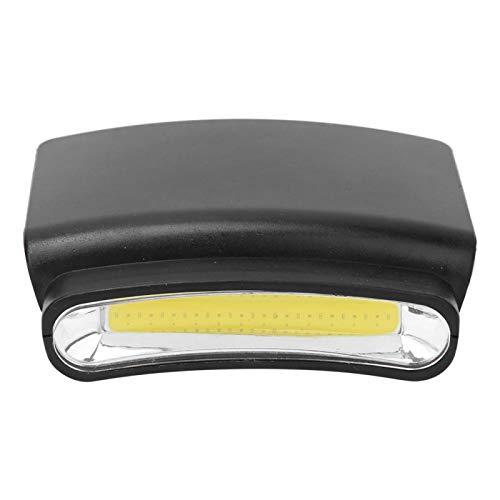 BOLORAMO Cap Clip Headlamp LED Portátil Headlamp Portátil LED Hat Brim Mini Head Light Headlamp Ligero para Correr de Noche, Andar en Bicicleta, Pescar de Noche(LED Portable Headlight)