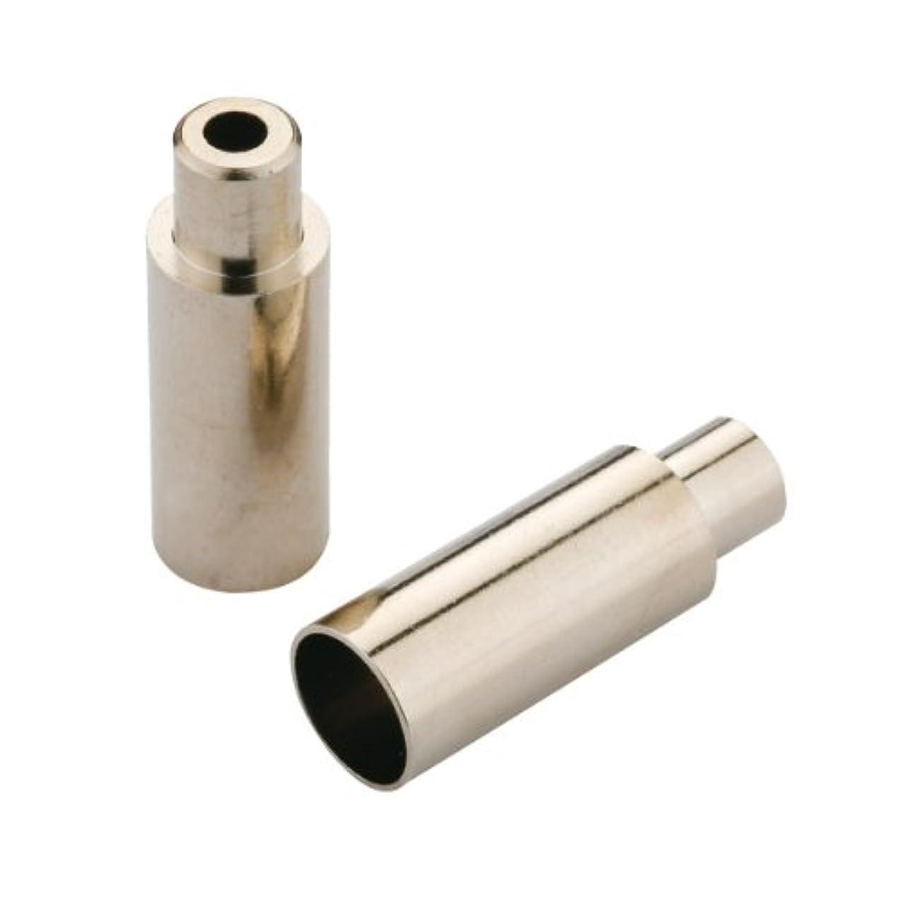 神秘的なジェーンオースティン冷蔵するJagwire 5mm Open End Caps, Chrome Plated, Bottle of 100 by Jagwire