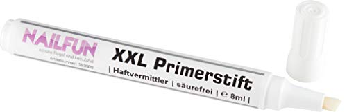 XXL Primer Pen 8ml säurefrei - Primerstift Haftvermittler - verstärkt die Haftung, vorbeugend...