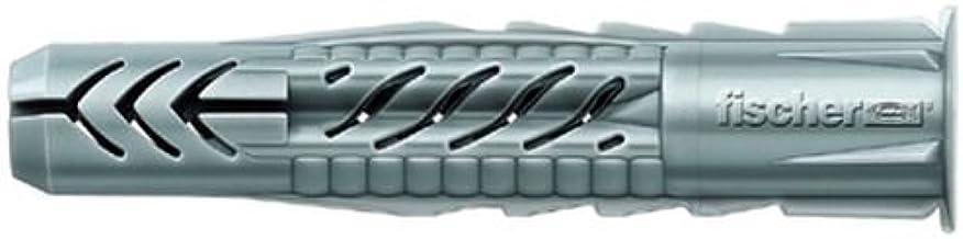 FISCHER Universele pluggen UX 10 x 60 R, doos met 50 nylon pluggen, multifunctionele pluggen met rand, voor optimale grip ...