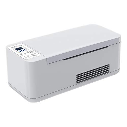 Fridge- Tragbarer Medizinischer Kühlschrank Und Insulinkühler - Mini-Medikamentenkühlschrank Intelligente Temperaturregelung 2-8 ° C, Auto-Reisekühlschrank, Heimgebrauch, Weiß