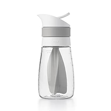 OXO Good Grips Twist & Pour Salad Dressing Mixer, Gray