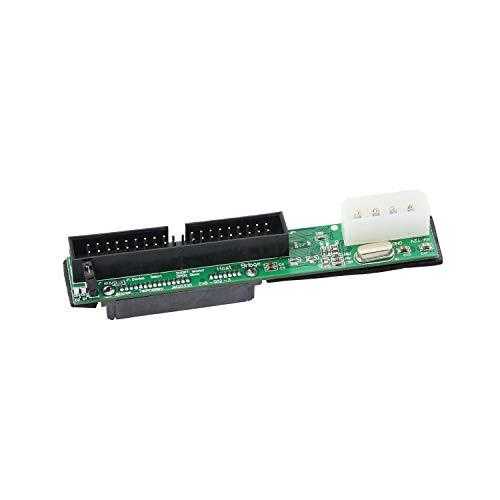 YAODHAOD - Adattatore SATA Femmina a 40 pin Maschio da 3,5 Pollici IDE per PC e Mac Computer a SATA Hard Drive (SATA F/3.5 M)