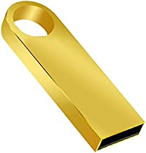 ACHICOO USB Flash Drive 8GB 16GB 32GB 64GB 128GB Pendrive Waterproof Metal U Disk USB Stick Memory Gold 16 GB
