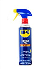 WD-40 non aerosol spray to protect faux florals from rain