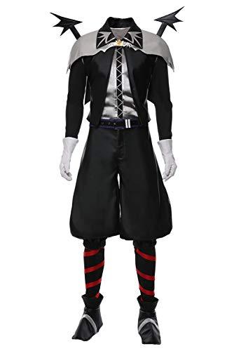 RedJade Kingdom Hearts Sora Skin Vampire Halloween Suit Cosplay Kostüm Herren XXXL
