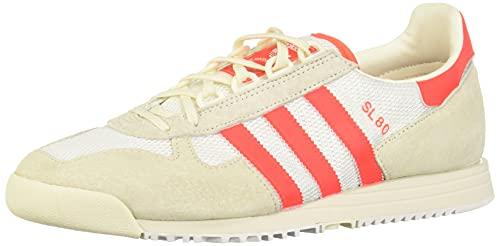 adidas SL 80 White, Red & Off White-45 1/3 ⭐