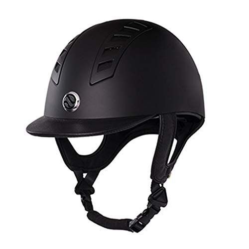 Back on Track Helm Reitkappe Reithelm EQ3 Neuheit (Smooth shell, 58 cm)